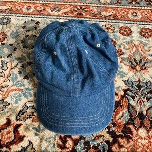 Anthropologie Jean Dad Hat